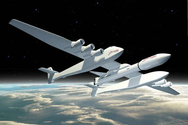 Stratolaunch Systems plans satellite launches from world's largest plane