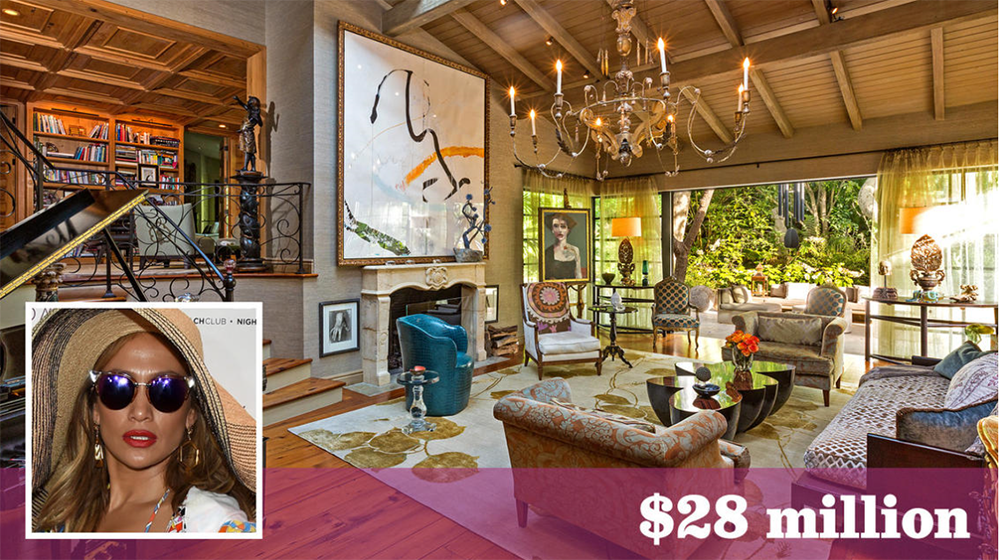 Jennifer Lopez buys Sela Ward's 8-acre estate in Bel-Air for $28 million